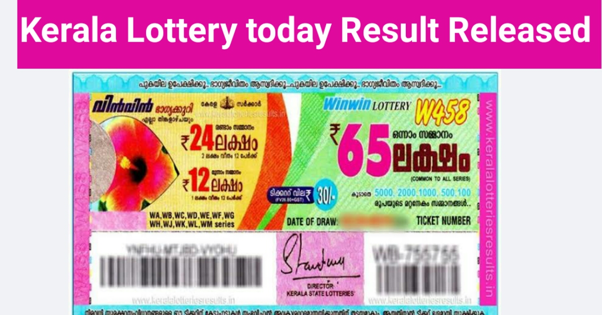 Kerala Lottery Today Result 7.5.2020