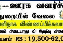 TNRD Nagapattinam Recruitment