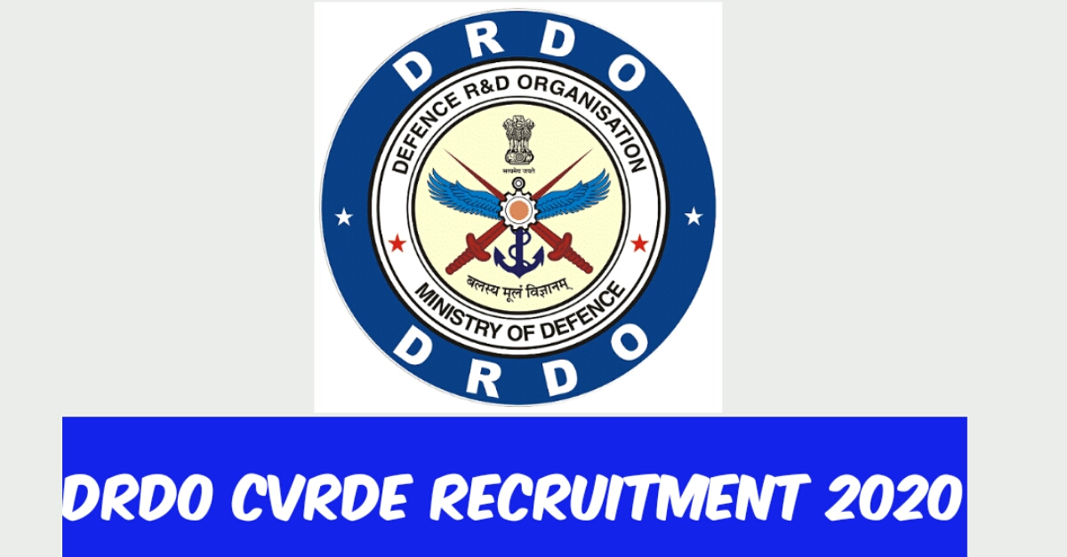 DRDO Recruitment 2020 - Expert 17 Junior Research Fellow (JRF) Posts