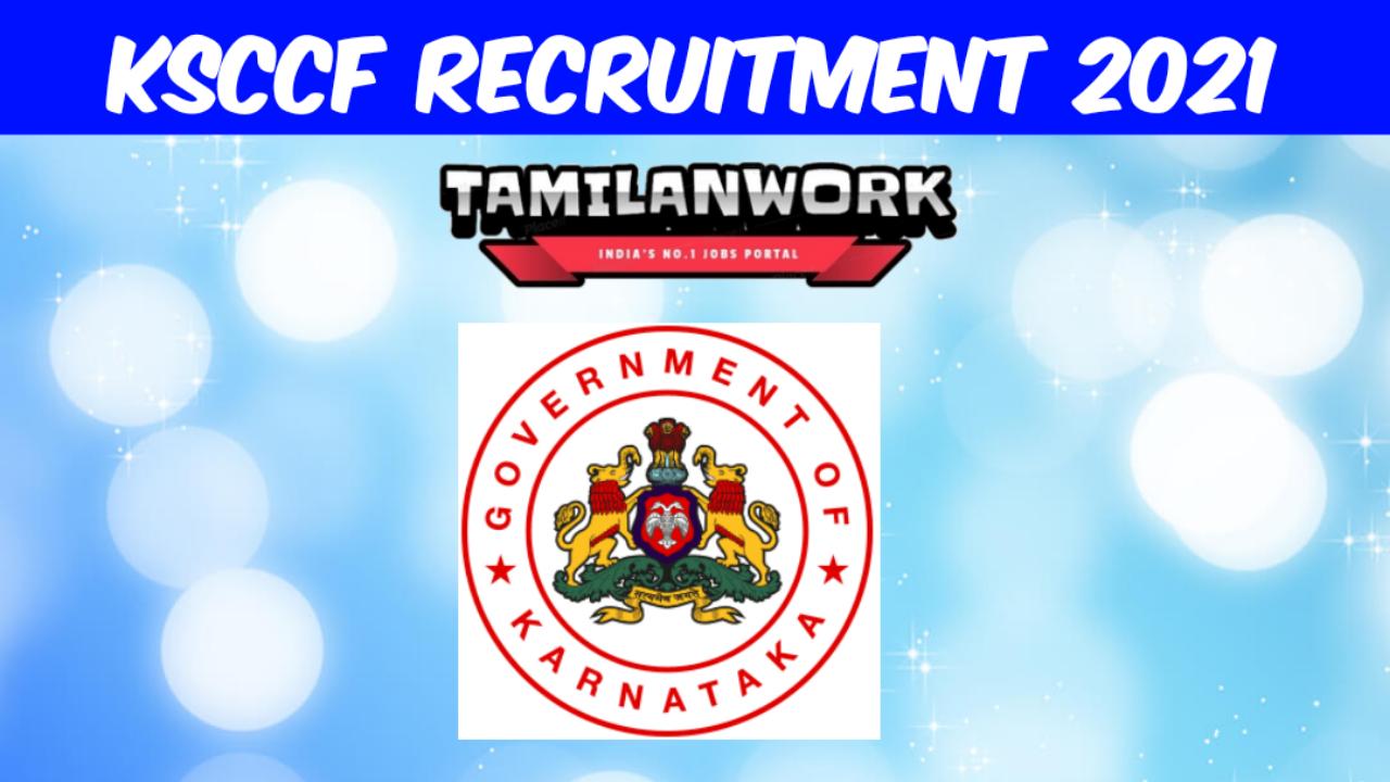 KSCCF Recruitment 2021