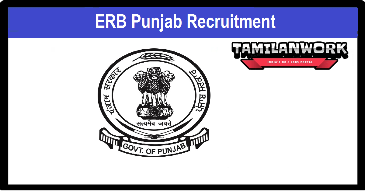ERB Punjab Recruitment