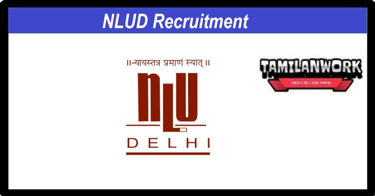 NLUD Recruitment