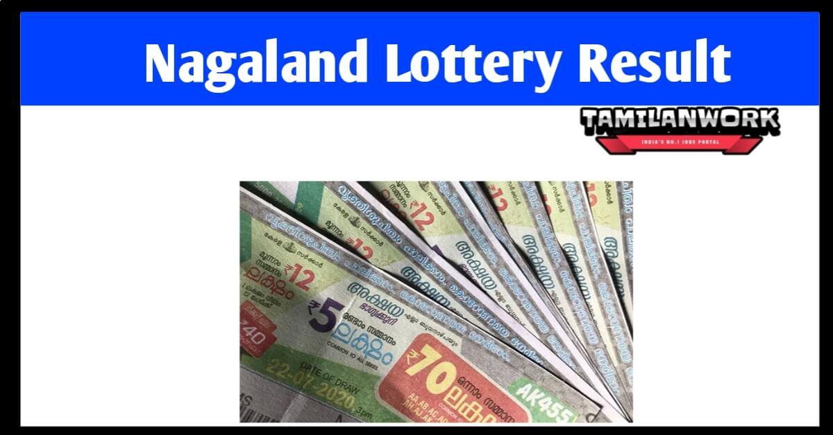 Nagaland State Lottery Sambad 10.7.2021