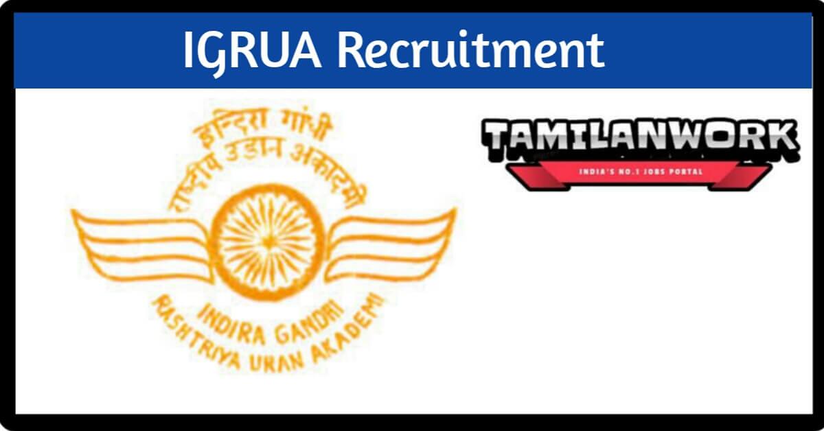 IGRUA Recruitment