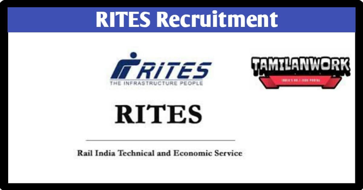 RITES Recruitment