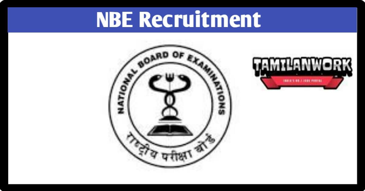 NBE Recruitment