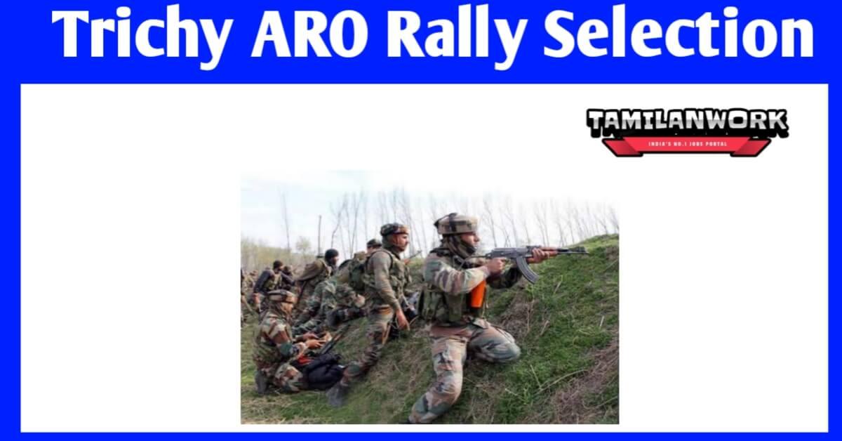 Trichy ARO Army Selection