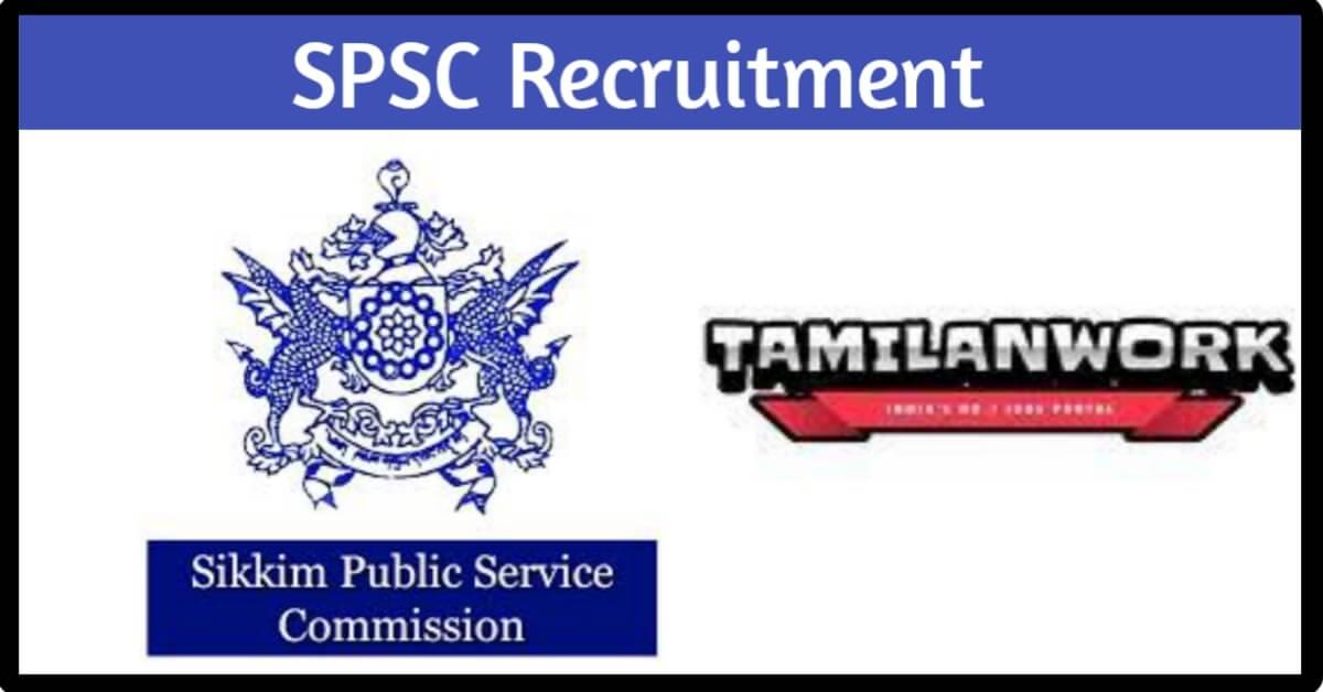 SPSC Sikkim Recruitment