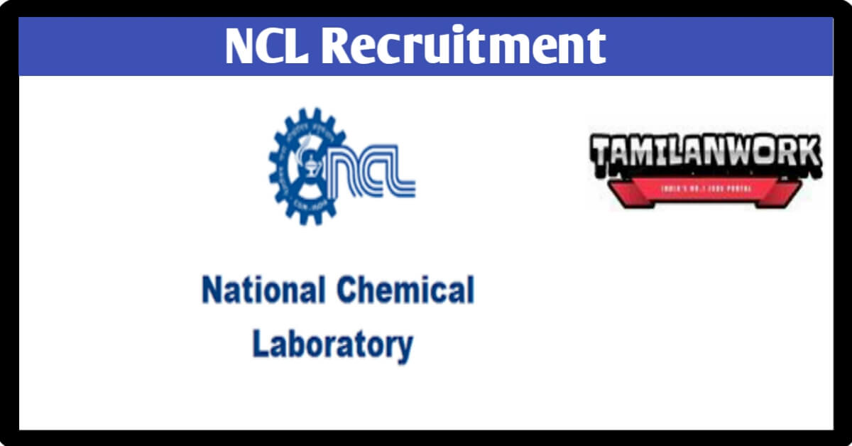 National Chemical Laboratory Recruitment