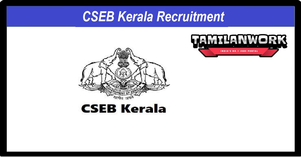 CSEB Kerala Recruitment