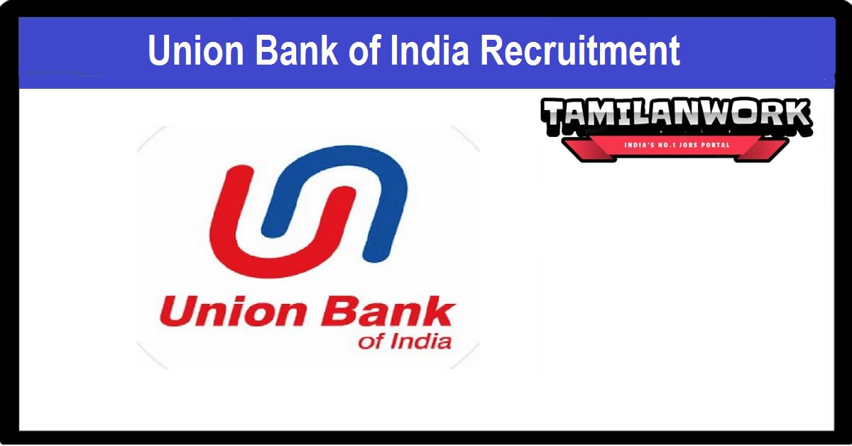 Union Bank of IndiaRecruitment