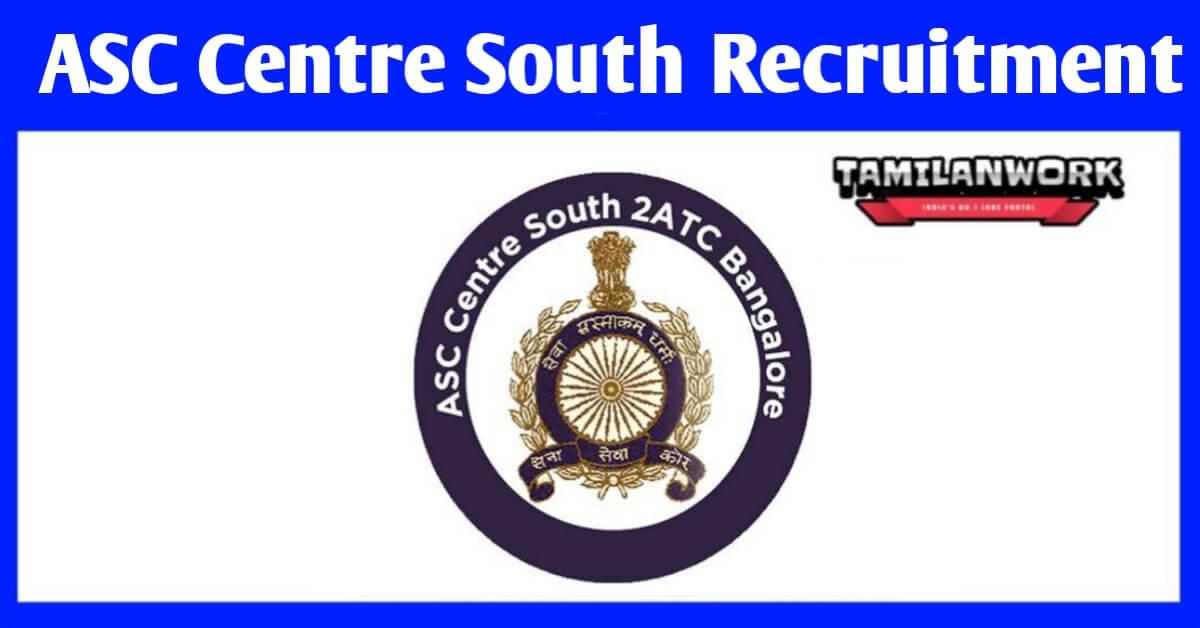 ASC Centre South Recruitment
